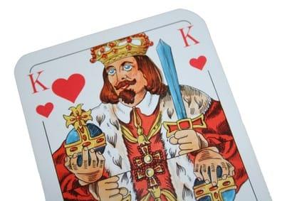 Der Herz König - wird auch in vielen Doppelkopf Büchern besprochen