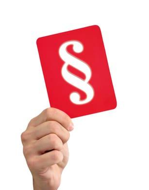 Regeln - die rote Karte