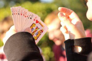 Spielkarten von doppelkopf